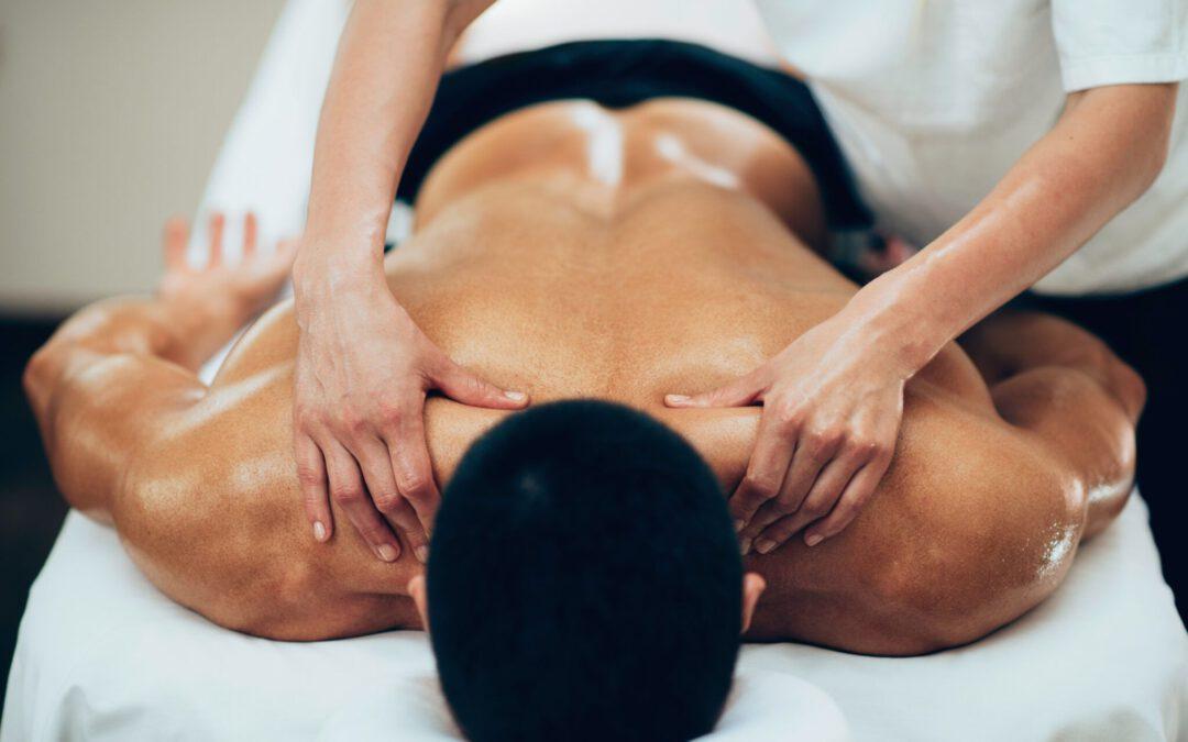 Een sportmassage helpt