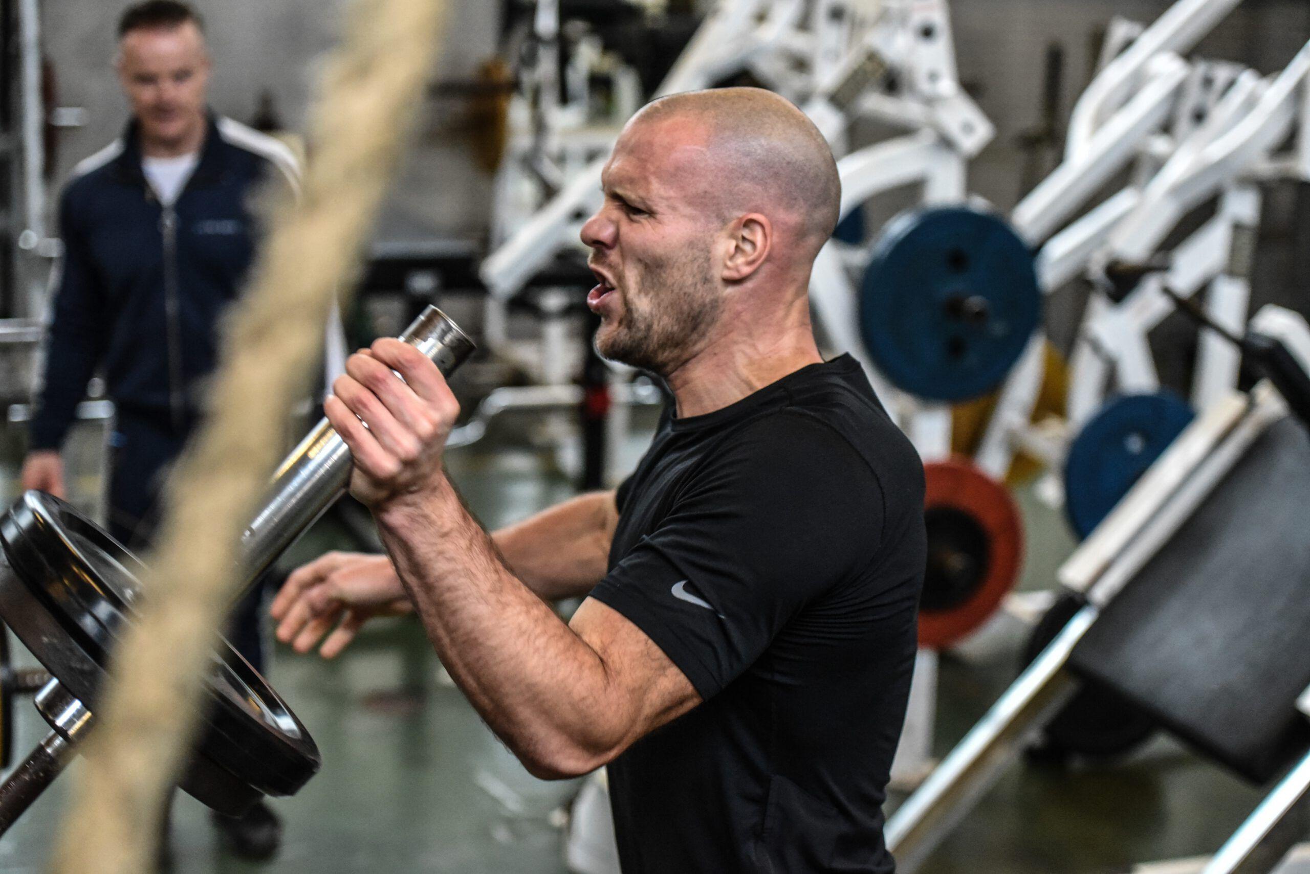 hard trainen zorgt vaak voor spierpijn