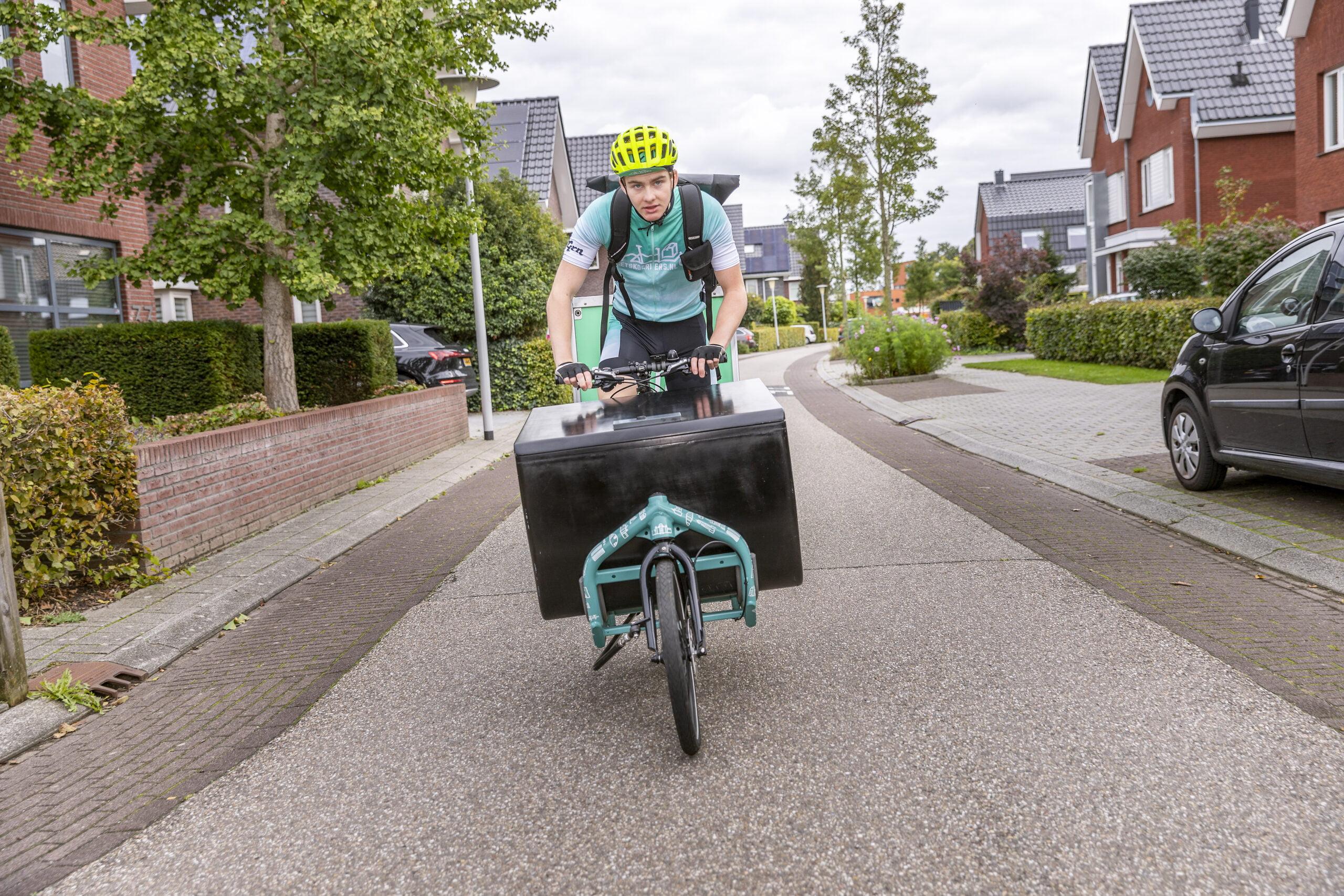 Eenvoudig groen en duurzaam bezorgen met de fiets