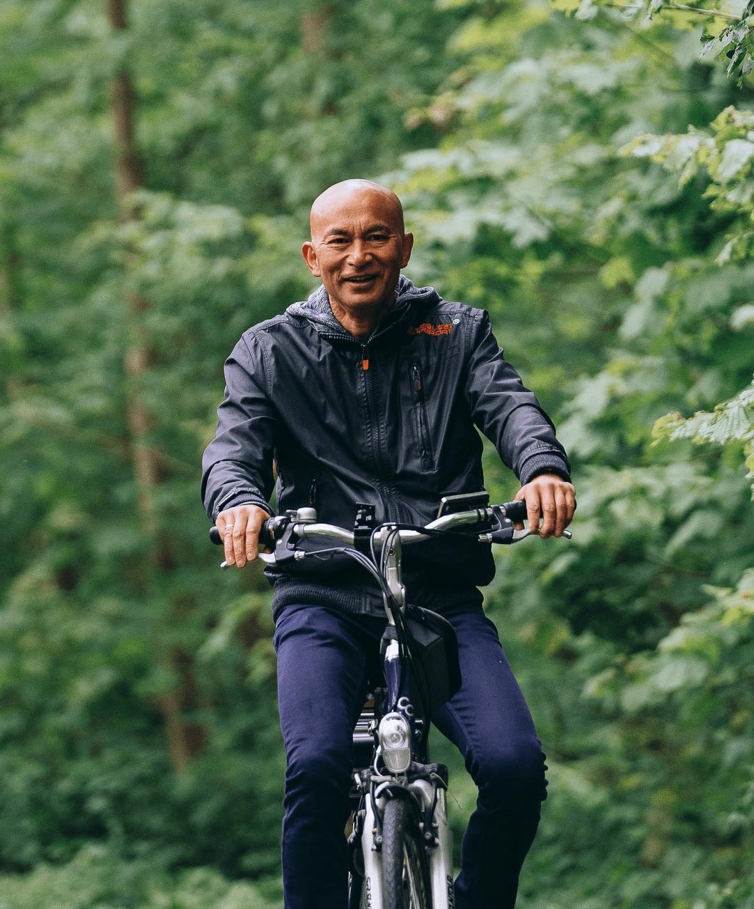 Verban slechte dagen, ga fietsen