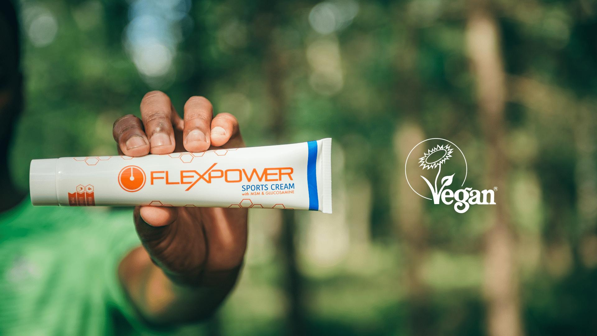 Flexpower is Vegan
